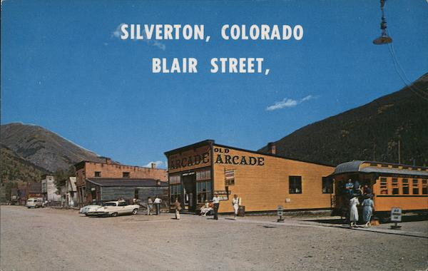 Blair Street Silverton Colorado