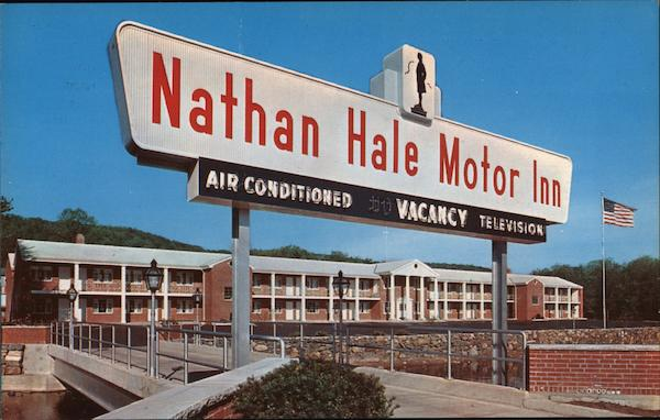 Nathan Hale Motor Inn New Haven Connecticut