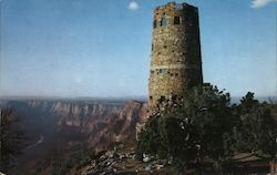 Grand Canyon National Park - The Watchtower at Desert View Postcard