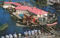 The Castaways Resort Motel Postcard