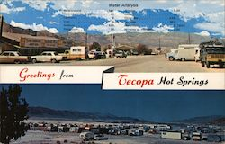 Greetings from Tecopa Hot Springs Postcard