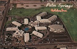 Palm Springs Holiday Inn Postcard
