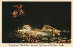 Fireworks Over Miracle Strip Amusement Park