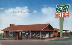 Perry's Sky Ranch Cafe Postcard