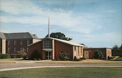 The Chapel-Veterans Administration Hospital Postcard
