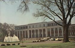 Frank Anthony Rose administration building University of Alabama Postcard