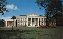 Sigma Alpha Epsilon Fraternity - University of Alabama Campus Postcard