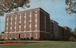 Paty Hall - University of Alabama Postcard