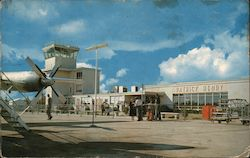 The Patrick Henry Airport Postcard