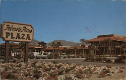 Palms to Pines Plaza Postcard