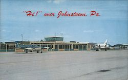 Johnstown Cambria Co. Airport Postcard