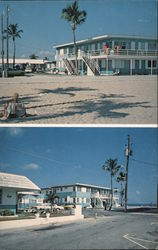 Oceanside Motel and Apartments Postcard