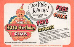 HOJO Birthday Club