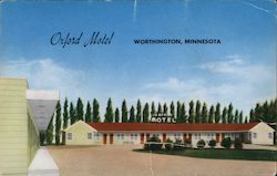 Oxford Motel Postcard