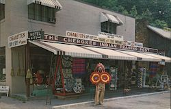 The Cherokee Indian Trading Post Postcard