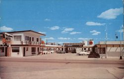 Downtowner Motel Postcard