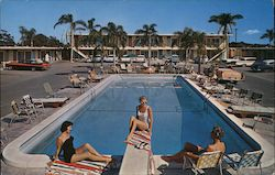 Plaza Inn Motel Postcard