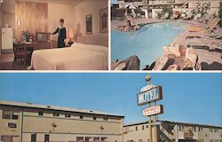 "The Cloud Motel ""For the Rest of Your Life"" Postcard"