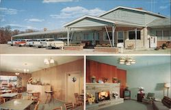 Holiday House Motel Postcard