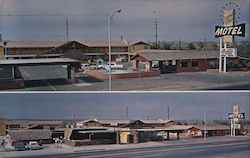 Desert View Motel Postcard