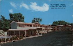 Traveler's Motel Postcard