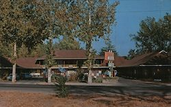 Wonderland Motel Postcard
