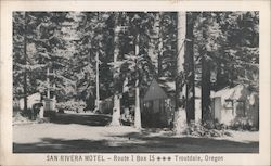 San Rivera Motel Postcard