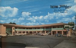 Tacoma Travelodge Postcard