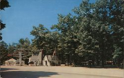 Edgewood Courts Postcard