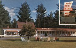 Mar-Jon Motel Postcard