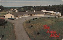 The Buoy Motel Postcard