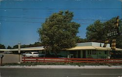 Bell Aire Motel Postcard