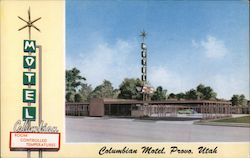 Columbian Motel Postcard