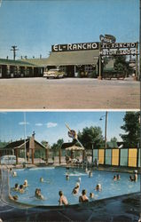 El Rancho Motor Lodge Postcard
