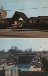 The Valley Motel Postcard