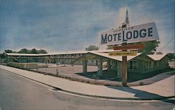 Oroville Motelodge Postcard