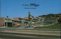 Hayward TraveLodge Postcard