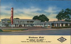 "Westerner Motel - ""Positively One of the Finest Motor Hotels in the West"" Postcard"