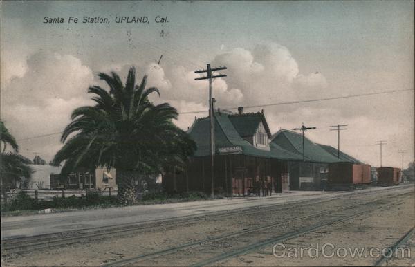 Santa Fe Station Upland California Wood's