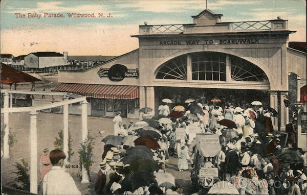 The Baby Parade Wildwood New Jersey