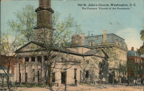Old St. John's Church Washington District of Columbia