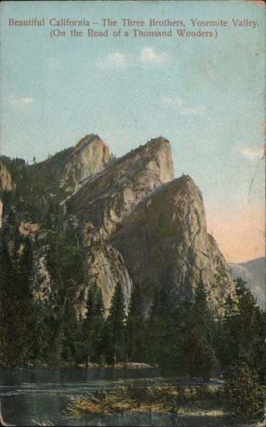 The Three Brothers, Yosemite Valley Yosemite National Park California