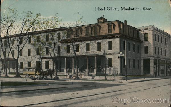 Hotel Gillett Manhattan Kansas