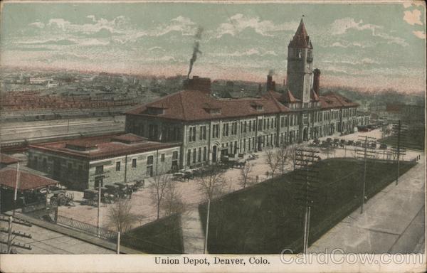 View of Union Depot Denver Colorado