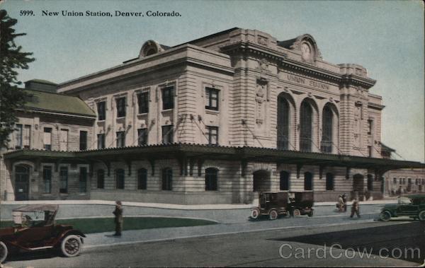 The New Union Station Denver Colorado