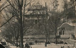 Basin Park and Southern Hotel Postcard