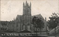 No. 9 First M.E. Church Postcard