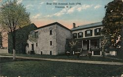 Rear Old Arsenal Built 1798 Postcard
