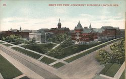 Bird's Eye View - University Buildings