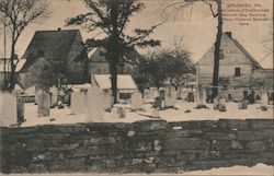 God's Acre of The German Seventh Day Baptists. Many Historic Graves here Postcard